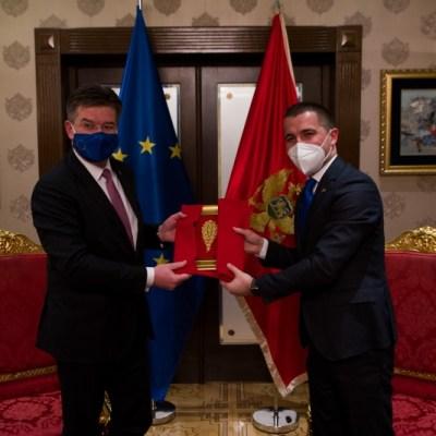 Bečić – Lajčak: Evropska unija biće snažan partner Crnoj Gori