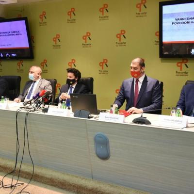 Abazović: Akcija hapšenja službenika MUP-a dokaz da svi možemo da radimo