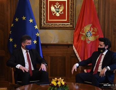Abazović-Lajčak: Evropska perspektiva najbolja spoljnopolitička vizija Crne Gore i Zapadnog Balkana