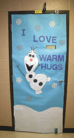 Winners Of Portageville High And Middle School Christmas Door Decorating Contests Are As Follows