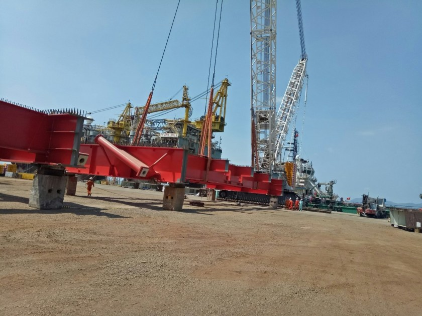 The Segments are being assembled at PV Shipyard's site