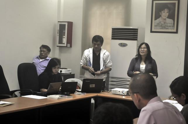 Web accessibility training team were led by NCDA Chief Nelia De Jesus