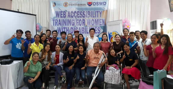 Participants and Resource Persons in a Class Photo after the training