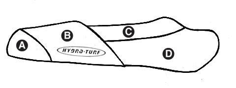 Hydro Turf Polaris SLH (98-01) / SLX (99-01) / Pro 1200