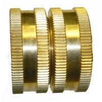 3/4 FGH x 3/4 FGH Brass Garden Hose Swivel Fitting   eBay