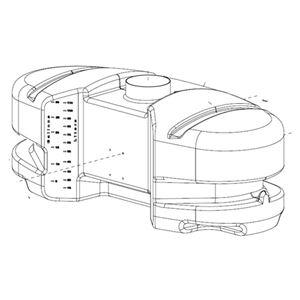 www.PWMall.com. PWMall-5169244-30 Gallon ATV / Oval Tank