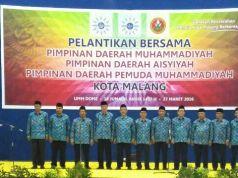 Pelantikan PDM Kota Malang