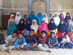 Siswa-siswi Kelas V SD Muhammadiyah 1 Sidoarjo peserta PTQ (foto istimewa)