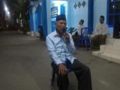 Muhammad Munir Mundir, pengasuh Ponpes Modern Muhammadiyah Paciran saat menerima rombongan PCA Klojen