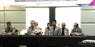 Suasana pembukaan DIksuscapim MPKU PWM Jatim. (Foto: dr Tjatur)