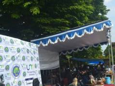 Suasana Stand Samba 2017 Komisariat IMM se-Universitas Negeri Malang. (Foto: Ayu)