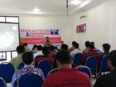 Suasana pembukaan Sekolah Politik dan Demokrasi PDPM Ponorogo