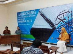 Suasana launching Program MAHIDA UMSurabaya.