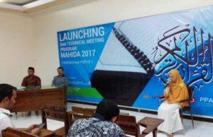 Suasana launching Program MAHIDA UMSurabaya.