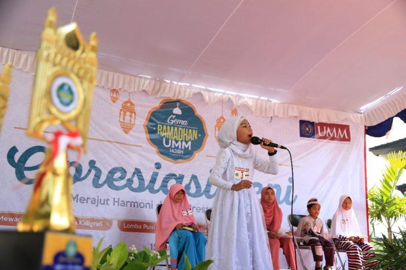 siswa TK dan SD se-Kota Malang unjuk kebolehan dalam Apresiasi Karya Anak Bangsa