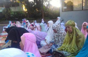 Jamaah sholat idul Fitri malang