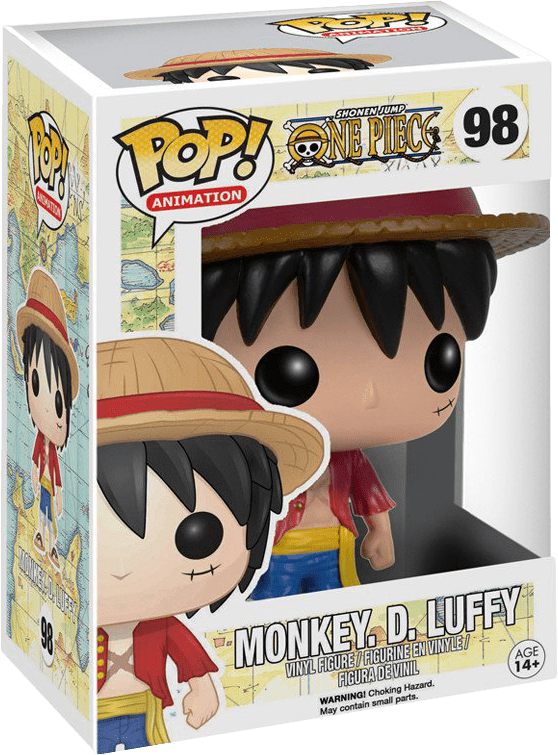 Funko Pop! Animation: One Piece - Monkey. D. Luffy Vinyl Figure (New)   Buy from Pwned Games with confidence.   Funko Vinyl Characters   Buy from ...