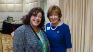 Susan Isaacs and Amy Bass