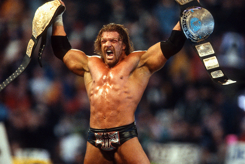 Triple H Campeon Indiscutible.