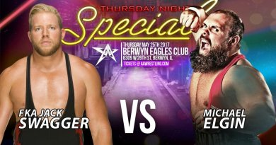 AAW 05/25/17 Thursday Night Special Results