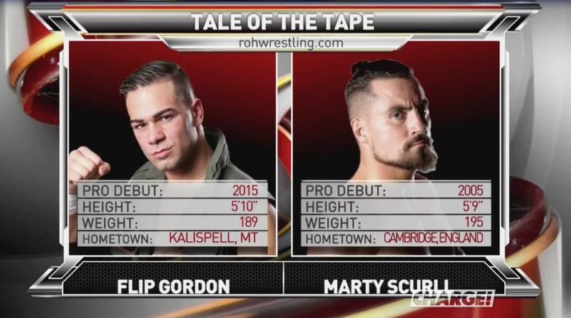 ROH 1/6/18 TV Review: Marty Scurll vs. Flip Gordon