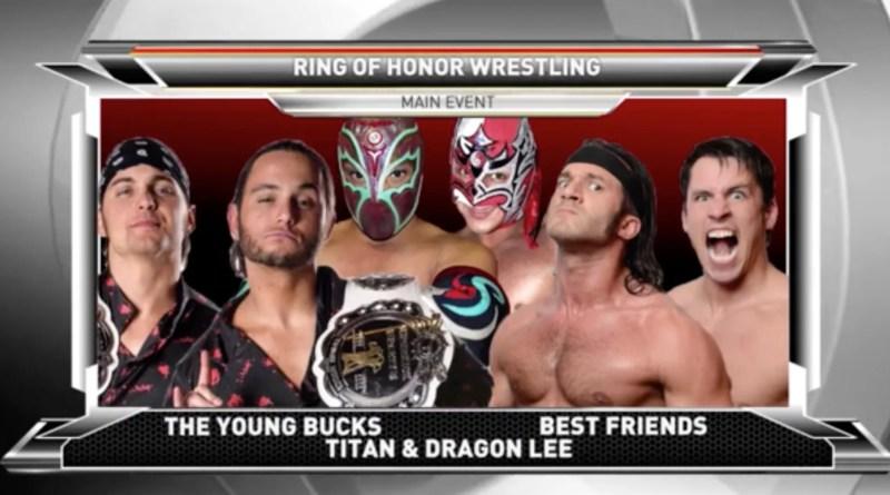 ROH 1/20/18 TV Review: Young Bucks vs Best Friends vs Team CMLL