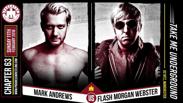 Image result for Progress Wrestling 63 Flash Morgan Webster vs. Mark Andrews
