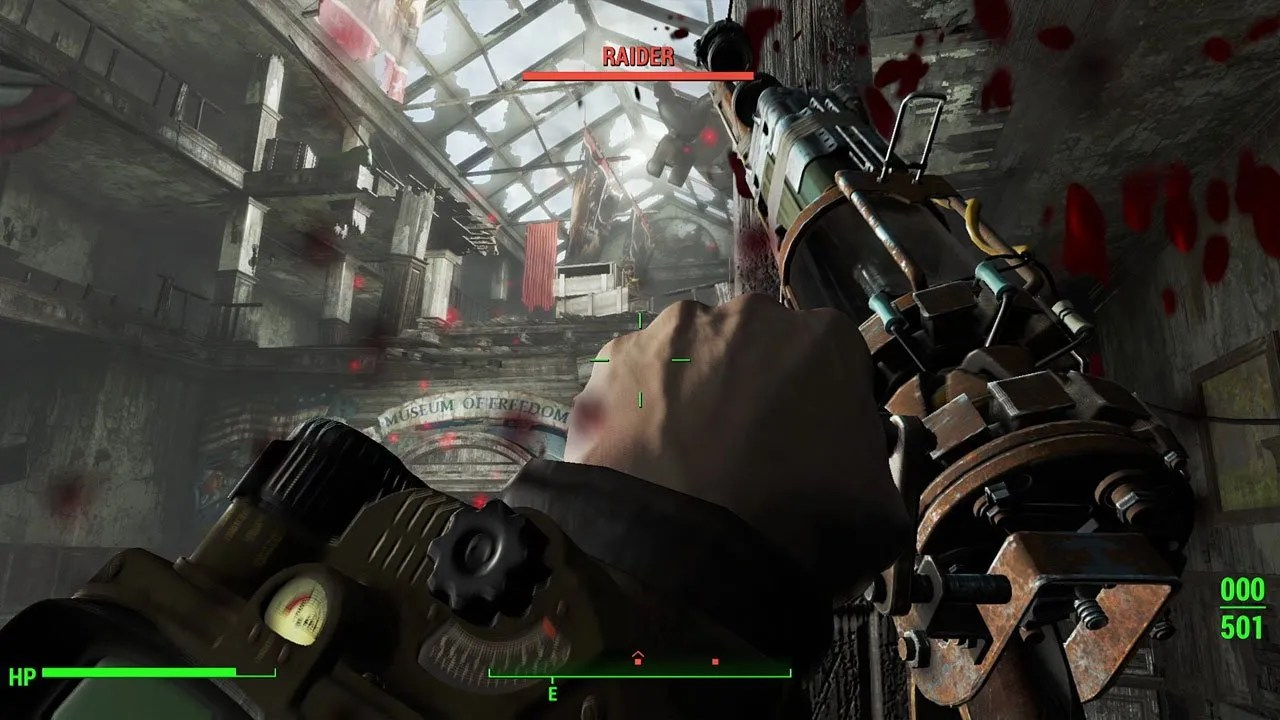 Best Weapon 4 Mods Fallout