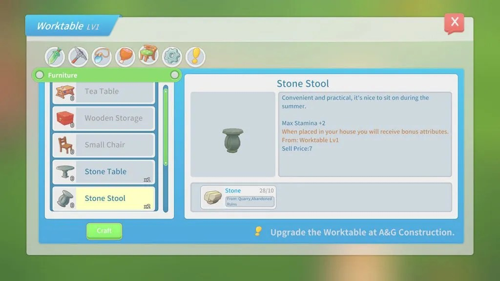 my time at portia how to make a stone