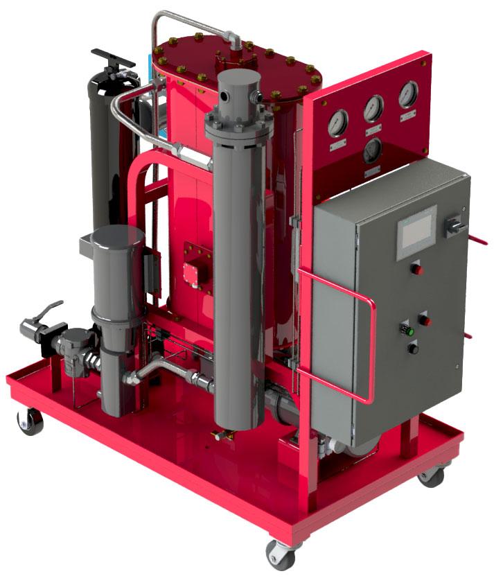 Hydac NAV30 Vacuum Dehydration Oil Purifier