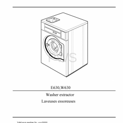 Speed Queen Dryer Wiring Diagram 2001 Ford Windstar Engine Diagrams, Parts And Manuals For Wascomat W630 Washer