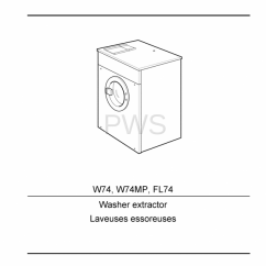 Speed Queen Dryer Wiring Diagram Cute Origami Cat Diagrams, Parts And Manuals For Wascomat W74 Washer