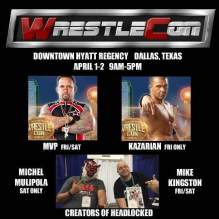 Michael Kingston-WrestleCon