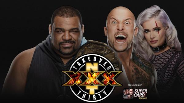 Keith Lee Karrion Kross Scarlett NXT TakeOver XXX Championship Match Main Event
