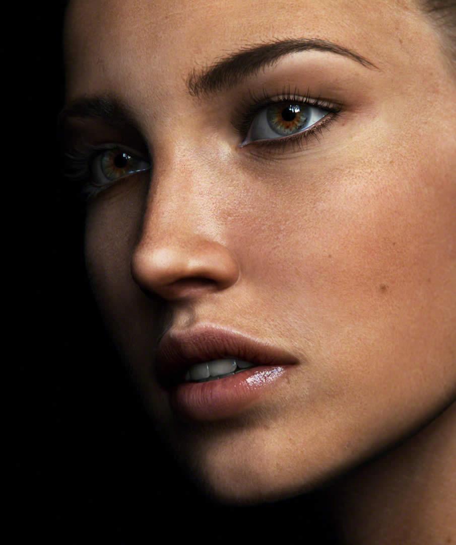 Close Up Portrait 1