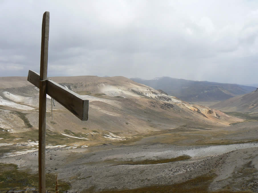 Nevado Mismi in Peru ( source of the Amazon River )