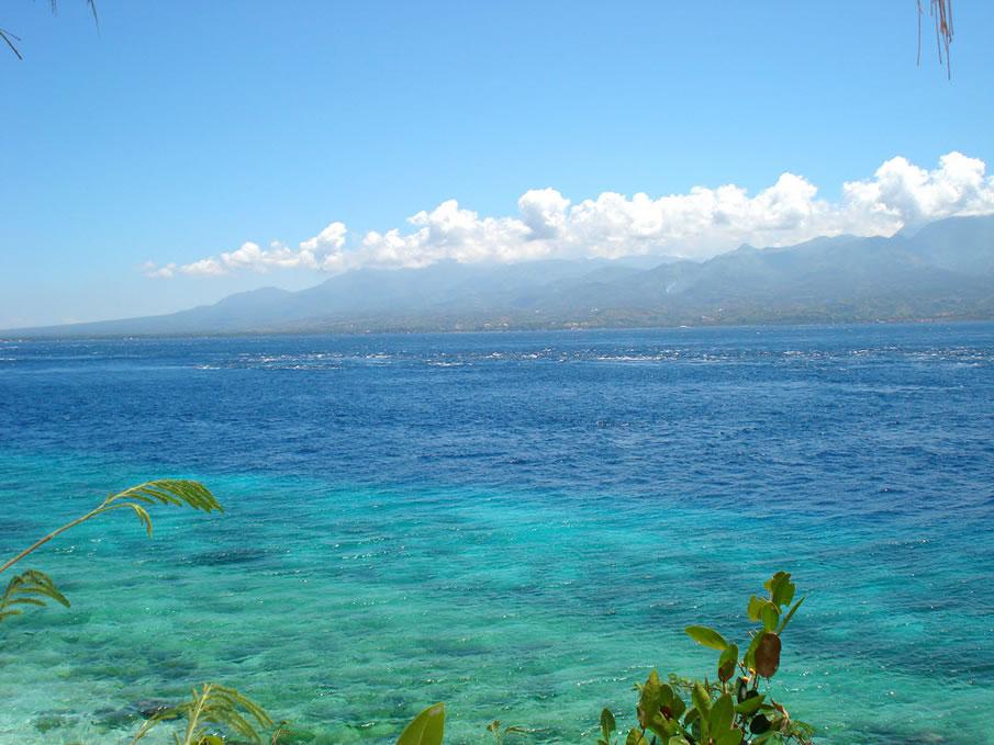 Tanon Strait from Pebbles Beach