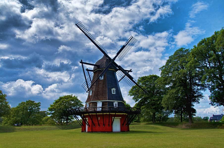 Ветряная мельница в Kastellet