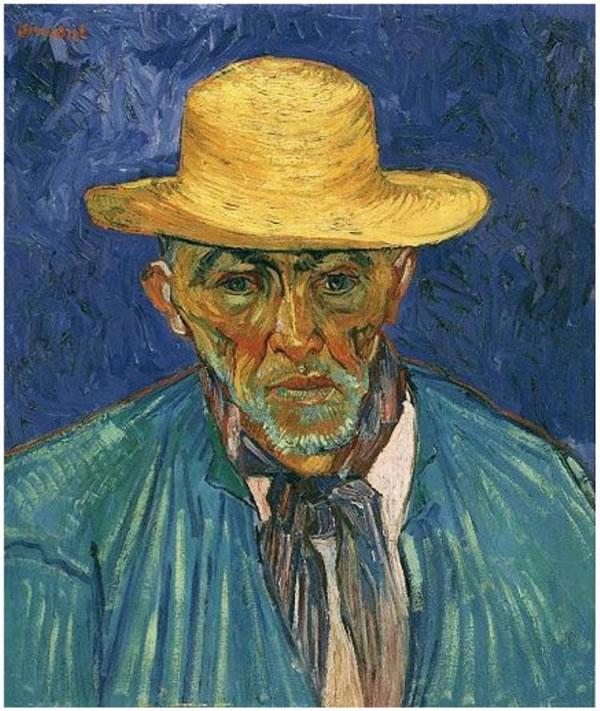Portrait of Patience Escalier; Shepherd in Provence