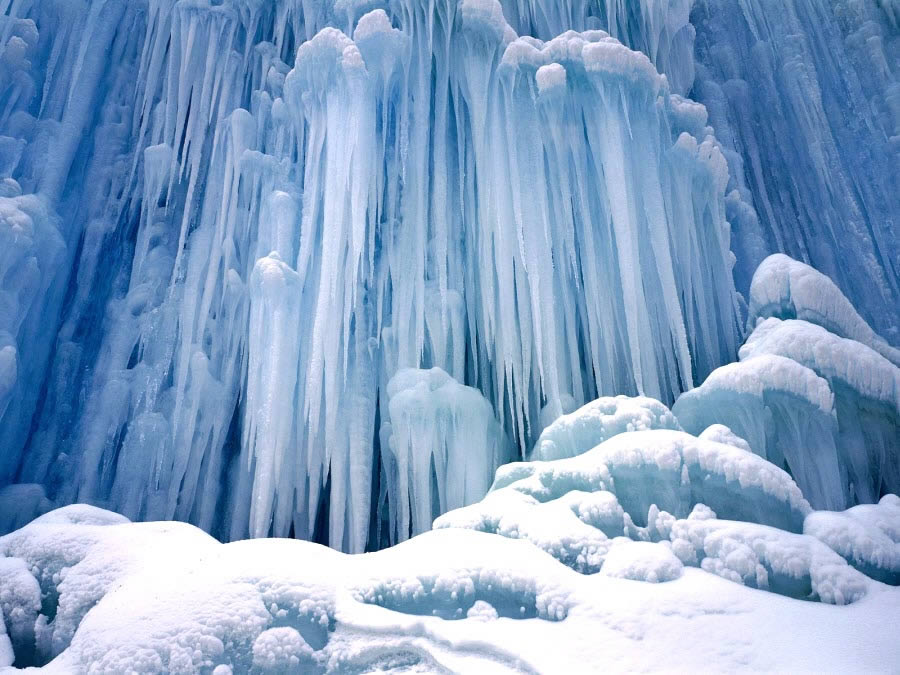Ice Castle Waterfall