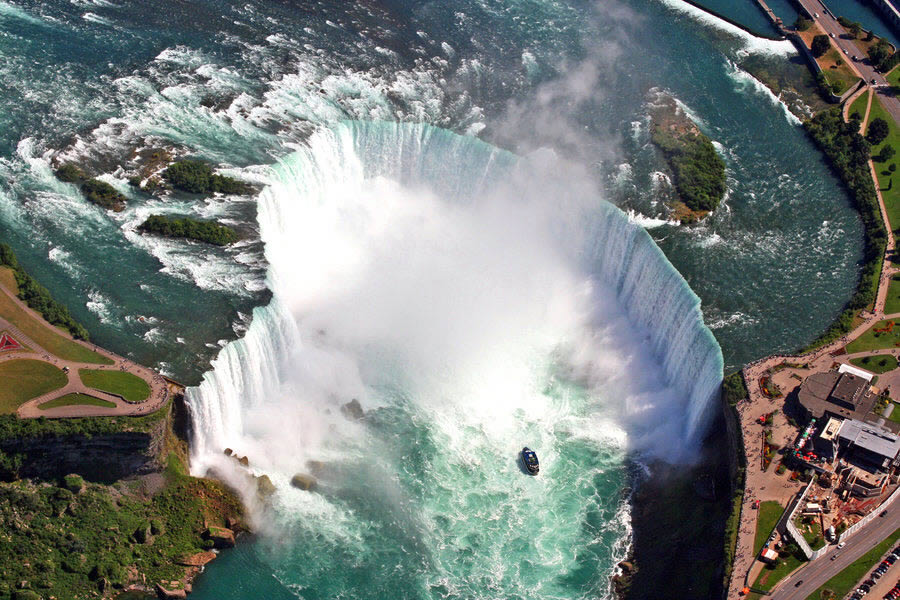 Niagara Falls from Above 2