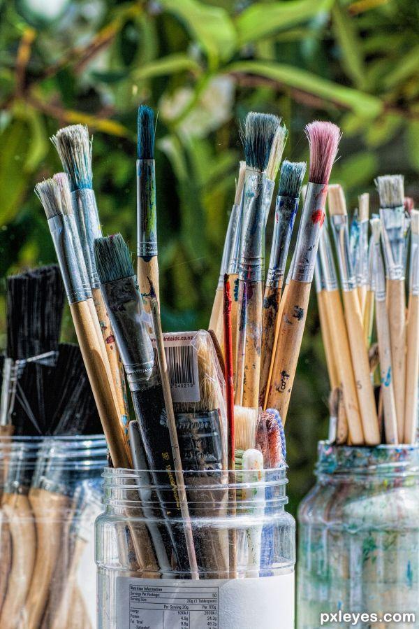 Art Supplies Photography