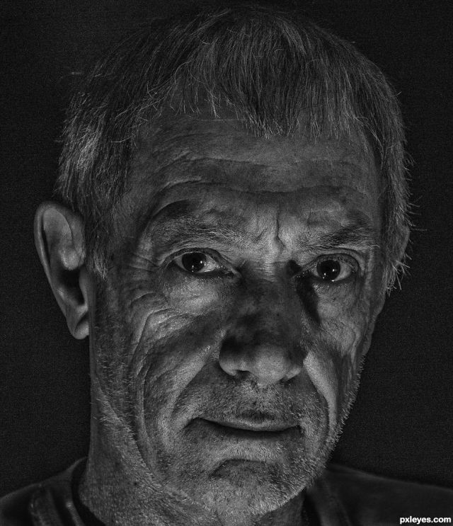 Portrait in Black and White