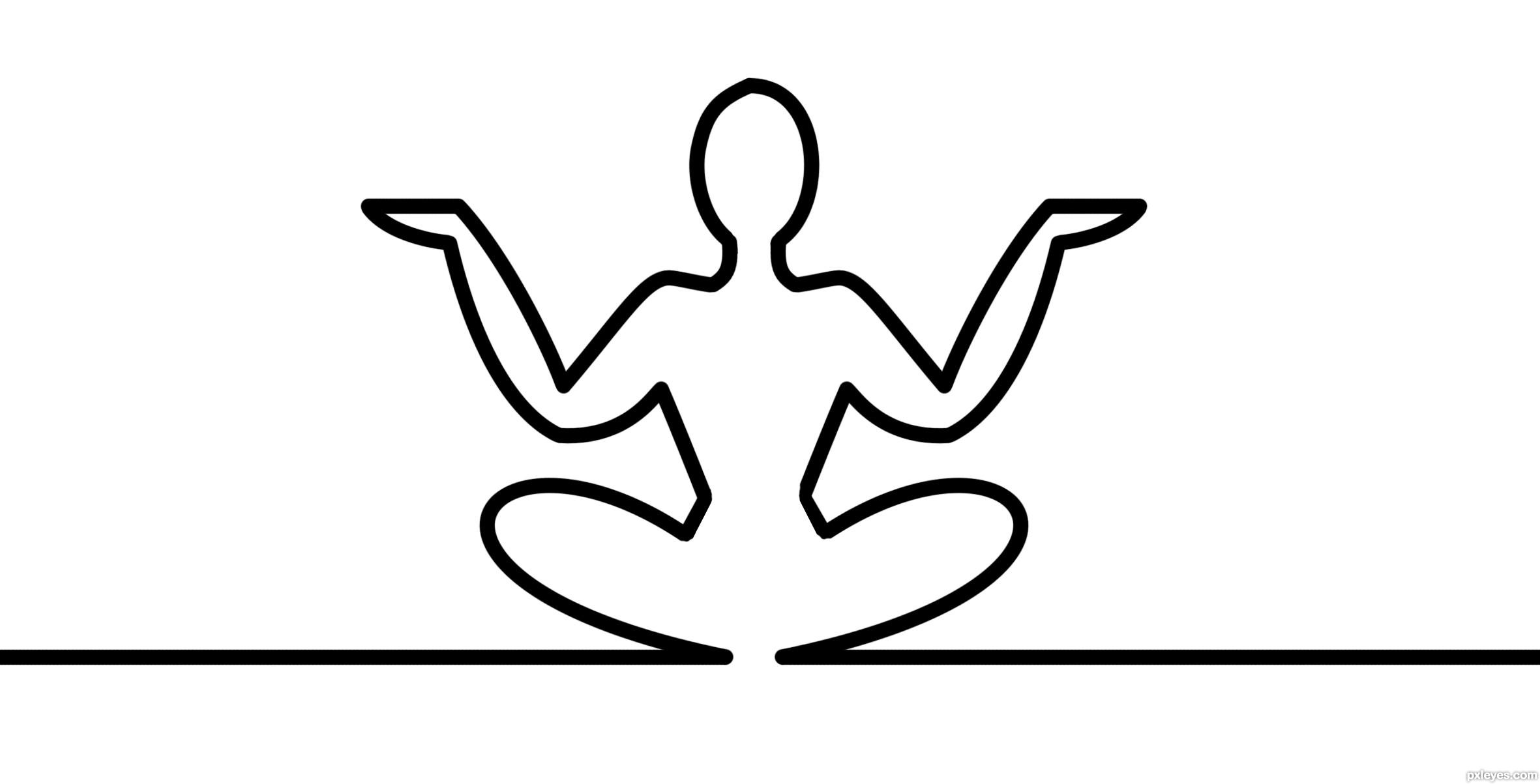 Yoga Picture By Mazanda For La Linea Dd Drawing Contest