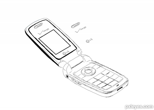 mobile phones drawing Gallery