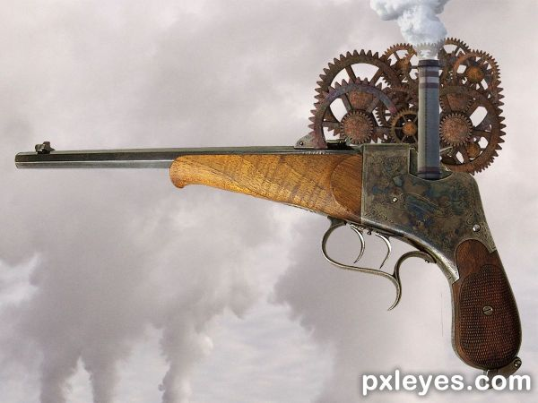 Steampunk Weapons Contest 22621 Page
