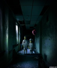 Creepy picture, by tnaylor21286 for: the dark room