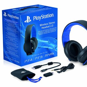 PS4 Wireless Gold stereo Headset