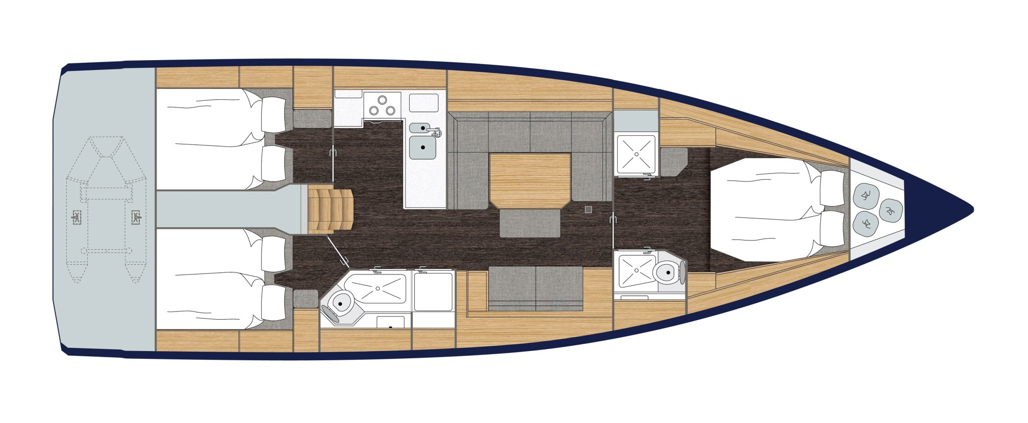 hight resolution of cabin layouts
