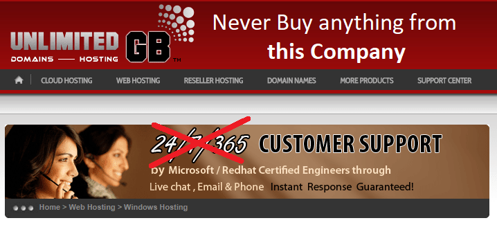 Never buy anything from UnlimitedGB